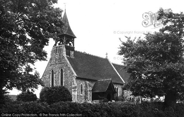 Photo of Wickford, St Catherine's Church c1955