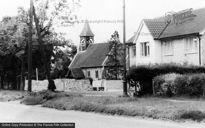 Photo of Wickford, St Catherine's Church c.1960