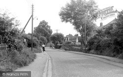 Wickford, Swan Lane c.1955