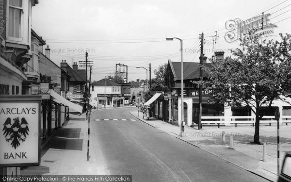 Photo of Wickford, The High Street c.1960