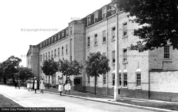 Wickford, The Nurses Home At Runwell Hospital c.1955