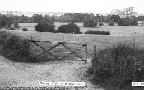 Photo of Wickham Bishops, General View c.1965