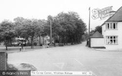 Wickham Bishops, The Co-Op Corner c.1965