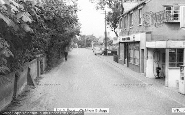 Photo of Wickham Bishops, The Village c.1960