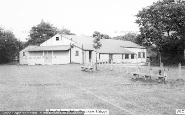 Photo of Wickham Bishops, The Village Hall c.1965