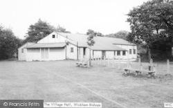 Wickham Bishops, The Village Hall c.1965