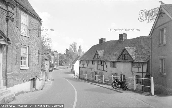 Photo of Wickham, Bridge Street 1957