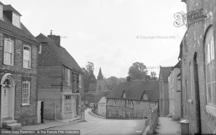 Photo of Wickham, Bridge Street 1961
