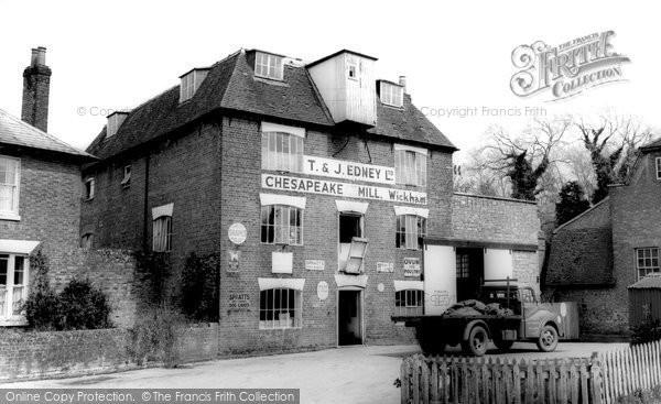Wickham,Chesapeake Mill c1965,Hampshire