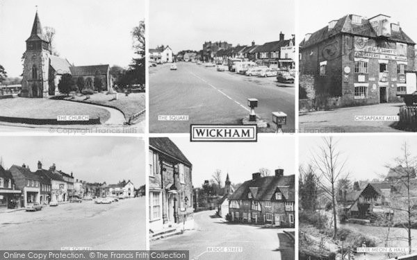 Photo of Wickham, Composite c.1965
