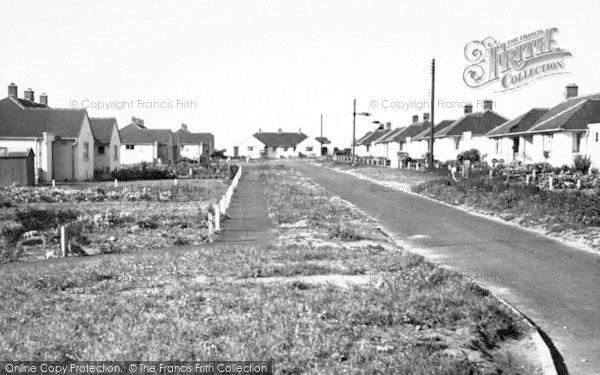 Photo of Wickham Market, 1954