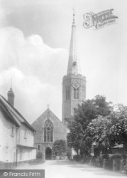 Wickham Market, All Saints Church 1929