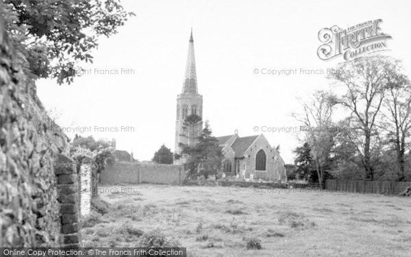 Photo of Wickham Market, All Saints Church 1959