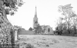 Wickham Market, All Saints Church 1959