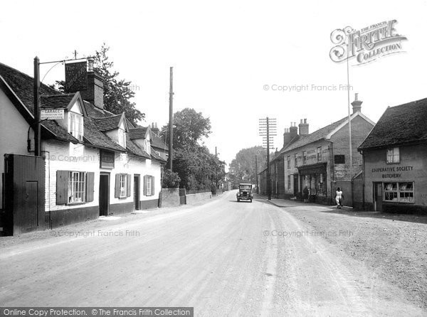 Photo of Wickham Market, Bridge Street 1929