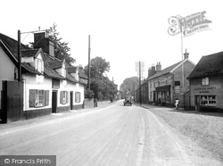 Wickham Market, Bridge Street 1929