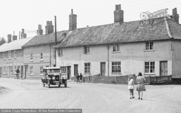 Photo of Wickham Market, Children Waliking In The Street1929