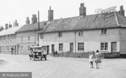 Wickham Market, Children Waliking In The Street1929