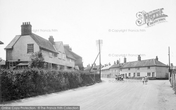 Photo of Wickham Market, Corner Bridge And Middle Street 1929