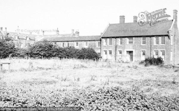 Photo of Wickham Market, Deben Court 1954