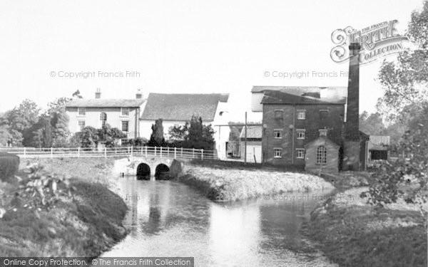 Photo of Wickham Market, Deben Mill 1954