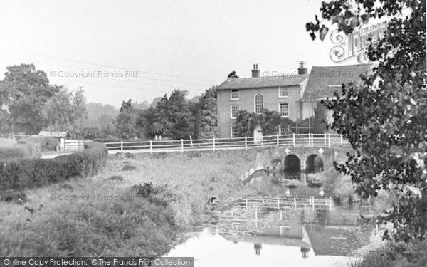 Photo of Wickham Market, Deben Mill Bridge 1950