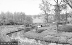 Wickham Market, Glevering Bridge 1959