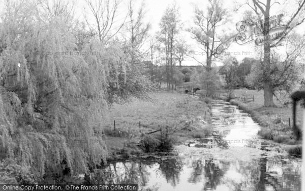 Photo of Wickham Market, Glevering Bridge 1959