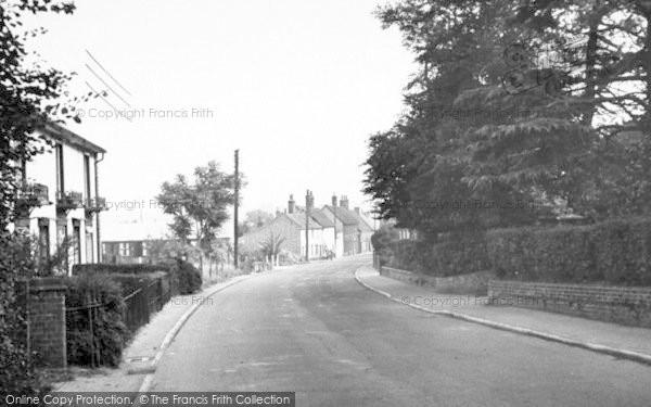 Photo of Wickham Market, High Street 1950