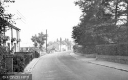 Wickham Market, High Street 1950
