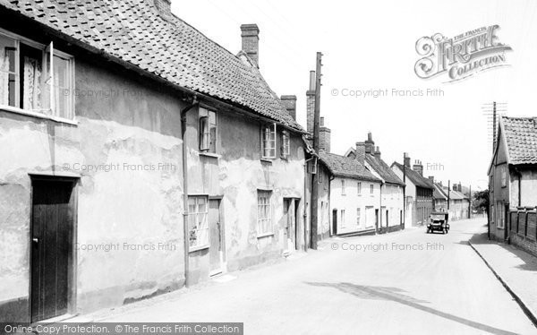 Photo of Wickham Market, Middle Hill 1929