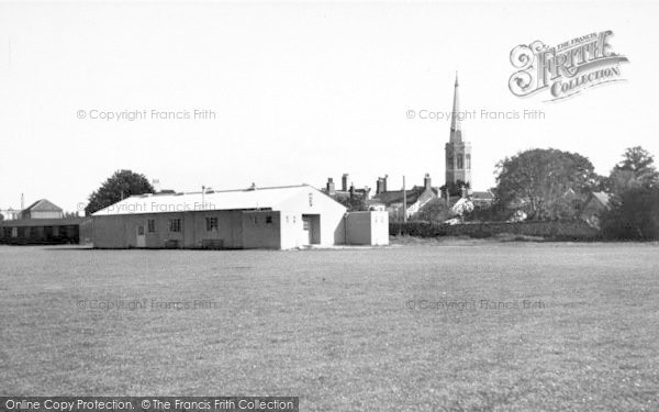Photo of Wickham Market, Recreation Ground 1954