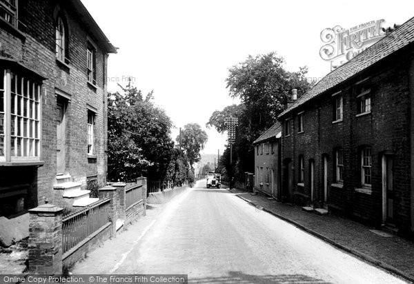 Photo of Wickham Market, Snowdon Hill 1929