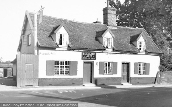 Photo of Wickham Market, The Chequers 1954