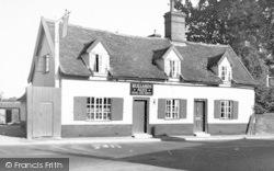 Wickham Market, The Chequers 1954