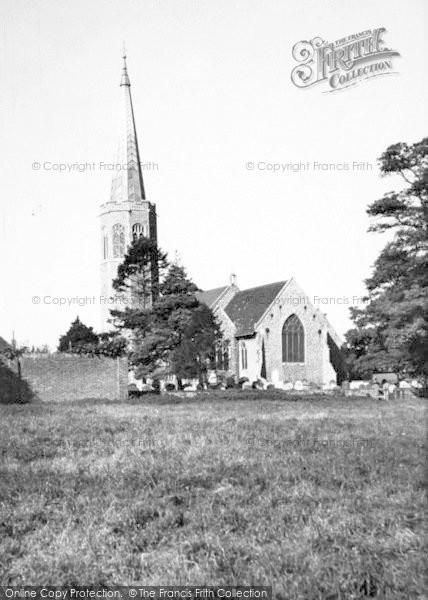 Photo of Wickham Market, The Church c.1960