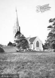 Wickham Market, The Church c.1960