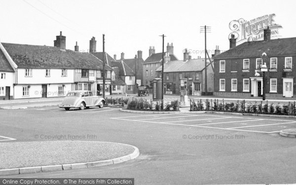 Photo of Wickham Market, The Hill 1950