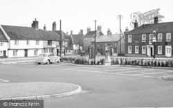 Wickham Market, The Hill 1950