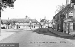 Wickham Market, The Hill 1954