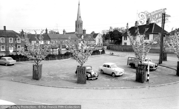 Photo of Wickham Market, The Hill 1959