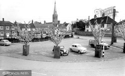 Wickham Market, The Hill 1959