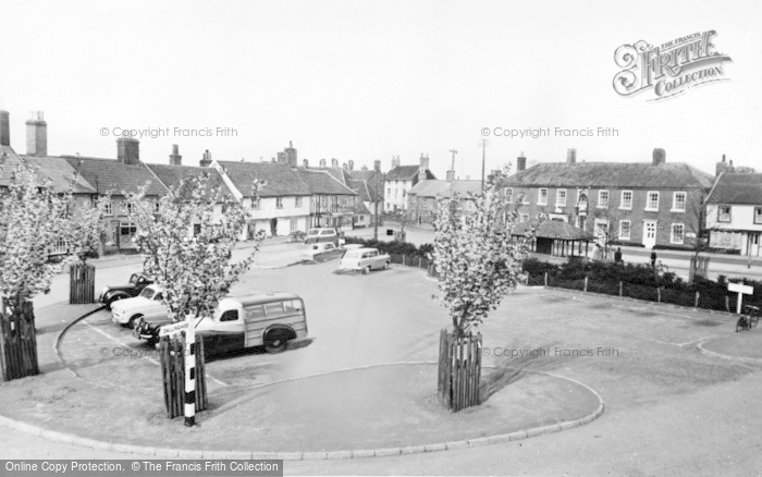Photo of Wickham Market, The Hill c.1960