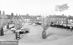 Wickham Market, The Hill c.1960