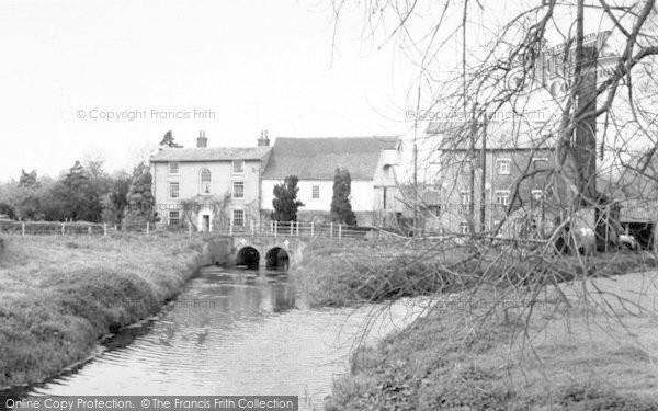 Photo of Wickham Market, The Mill 1959
