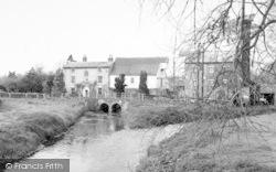 Wickham Market, The Mill 1959