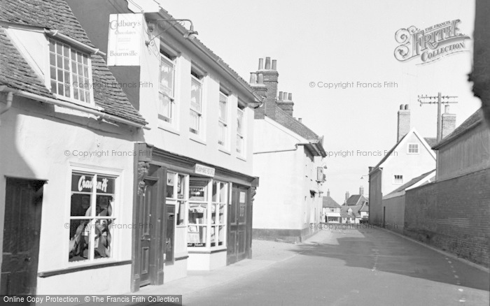 Photo of Wickham Market, The Post Office 1954