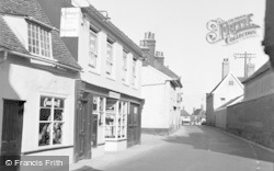 Wickham Market, The Post Office 1954