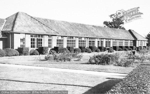 Photo of Wickham Market, The School 1954