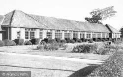 Wickham Market, The School 1954